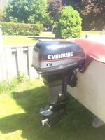 Evinrude 9.9 hp outboard