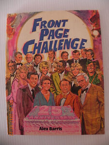Front Page Challenge Book