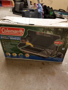 coleman grill - used once