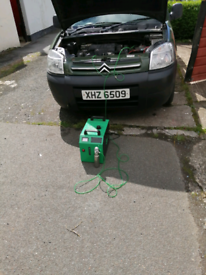 Mobile dpf engine cleaning