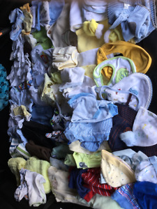 Baby BOY 0-3 months clothing, good condition, bag 4.