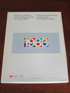 Souvenir Collection of Postage Stamps of Canada 1983