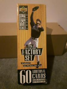 1996 Upper Deck Collector's Choice Factory Baseball Card Set