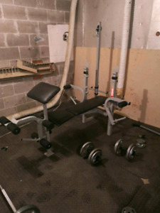 Bench press all in one
