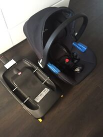 Silvercross simplicity car seat and isofix