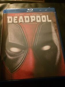 Deadpool Movie (blu-Ray/DVD/download)