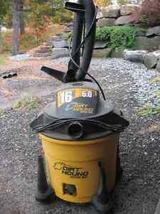 Dirt Hound(Shop-Vac) 6HP 16 Gallon