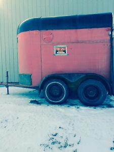 1980 single horse trailer