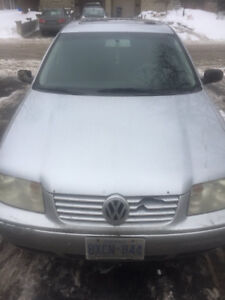 $1100 2002 Manual Volkswagen Jetta - 260km