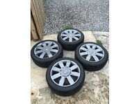 Clio 182 cup anthracite wheels new tyres
