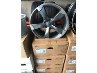 "18"" alloy wheels Alloys Rims tyre tyres 5x112 audi Seat Skoda Vw Volkswagen"