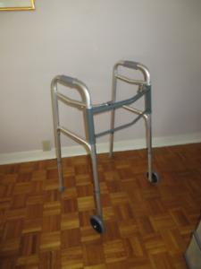 Walker, two wheel