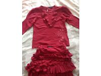 Girls DKNY outfit age 4 Very good condition