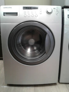 """washer Samsung front load grey 27"""""""