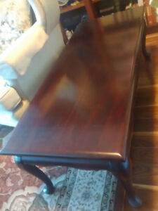 Gibbard Mahogany coffee table - reduced price March 1