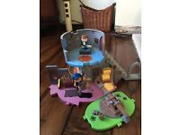 Mike the knight play set and catapult add on