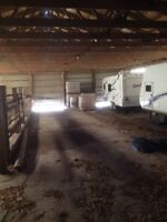 Barn storage available