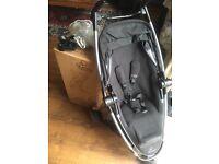 Quinny Zapp Xtra2 in Rocking Black £155 with guarantee