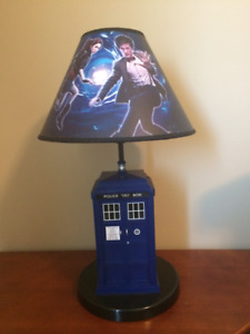 Dr. WHO Lamp With Tardis Sound Effects