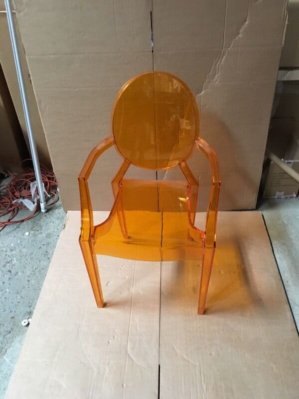 Awesome Orange Ghost Chair Band New £25. Many More Available.