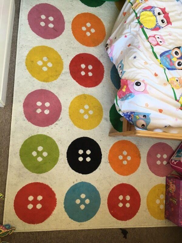 Ikea Button Rug Home Decor