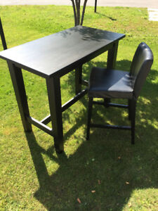 Lightly Used IKEA STORNÄS Table And HENRIKSDAL Chair