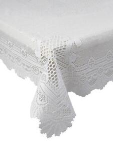 Oval Lace Tablecloth