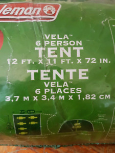 Coleman Vela 6person tent & Tents Tents | Kijiji: Free Classifieds in Saskatoon. Find a job ...