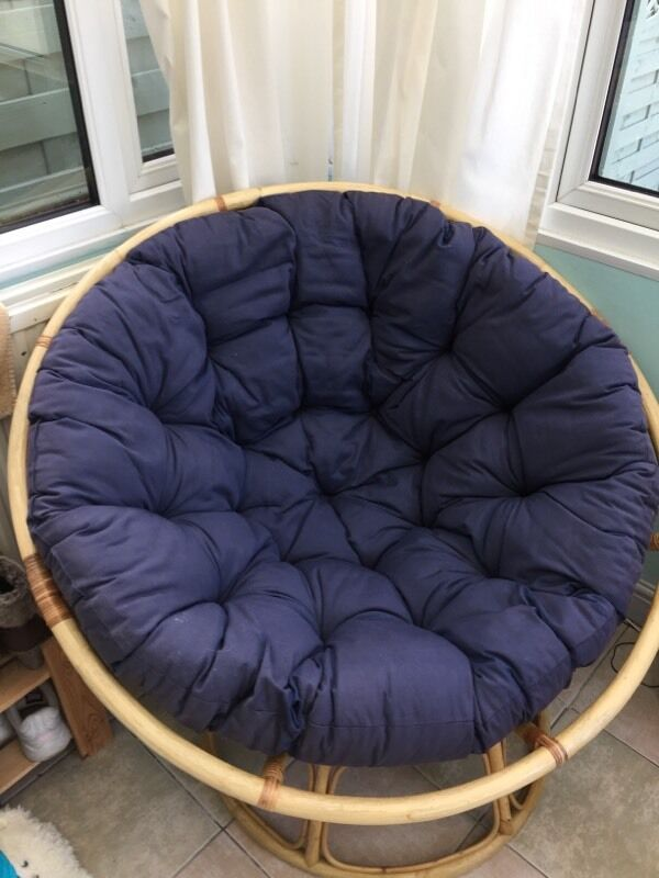 Moon Bamboo Circle Chair