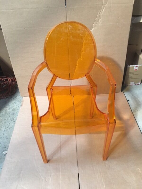 4 X BNIB Orange Ghost Chair £140