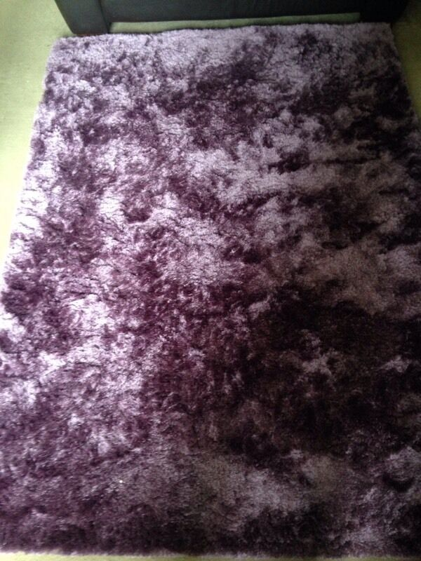 Purple Shimmer Rug From Next