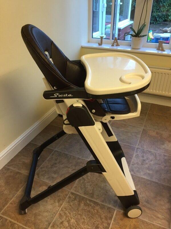 Beau Mamas U0026 Papas Siesta High Chair