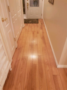 high quality laminate flooring new in box