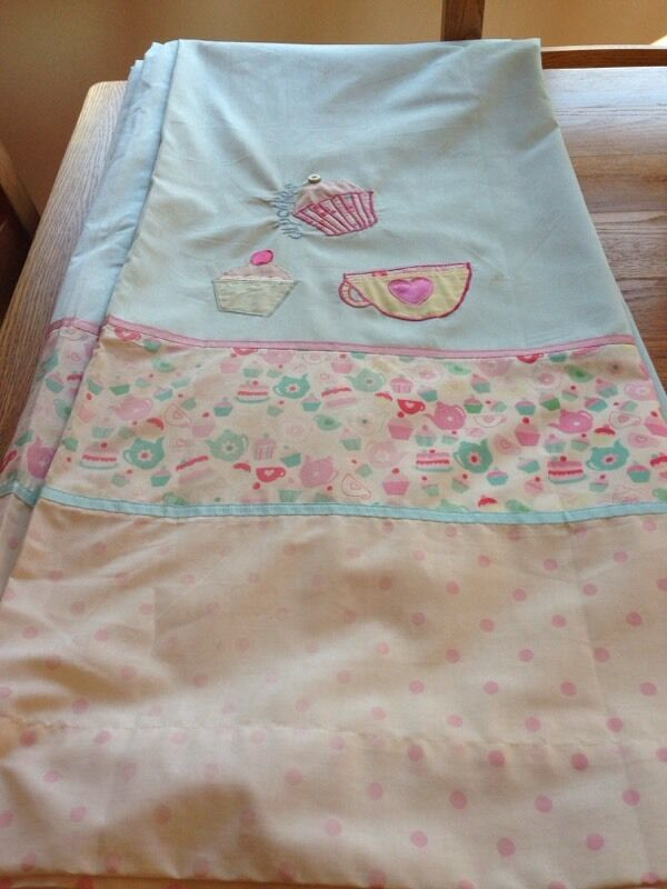 Next Cupcake Lined Girls Tab Top Curtains