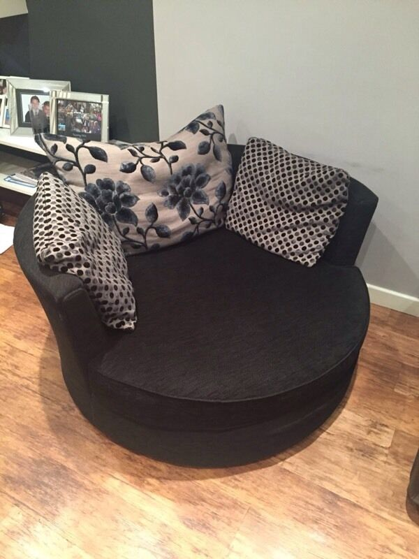 Round Sofa Couch Spin Chair Love Seat