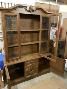 Dish Display Cabinet For Sale