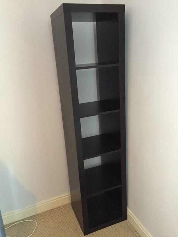 IKEA 5 Cube Storage Unit Black