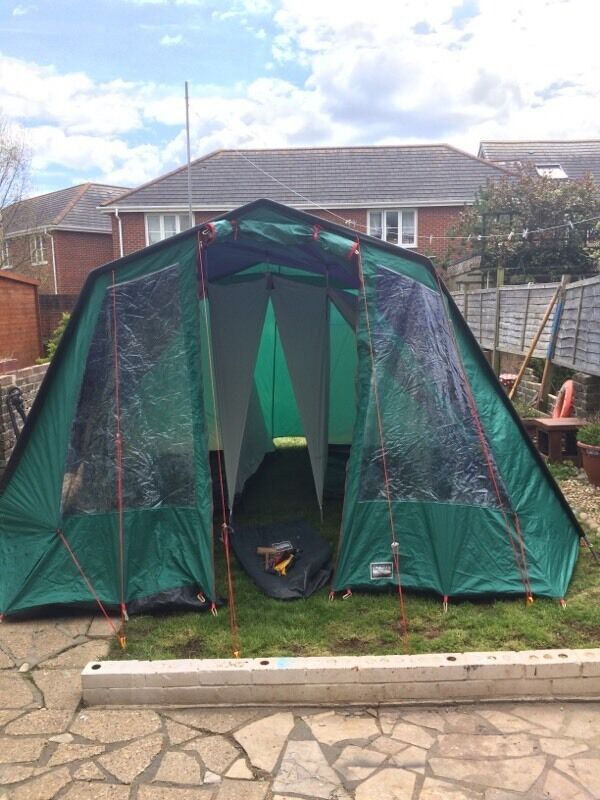 Lichfield 4 man frame tent & Lichfield 4 man frame tent   in Portsmouth Hampshire   Gumtree