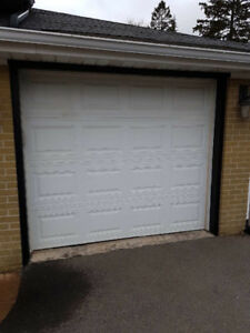 Standard Garage Door 8x7 With Track $200