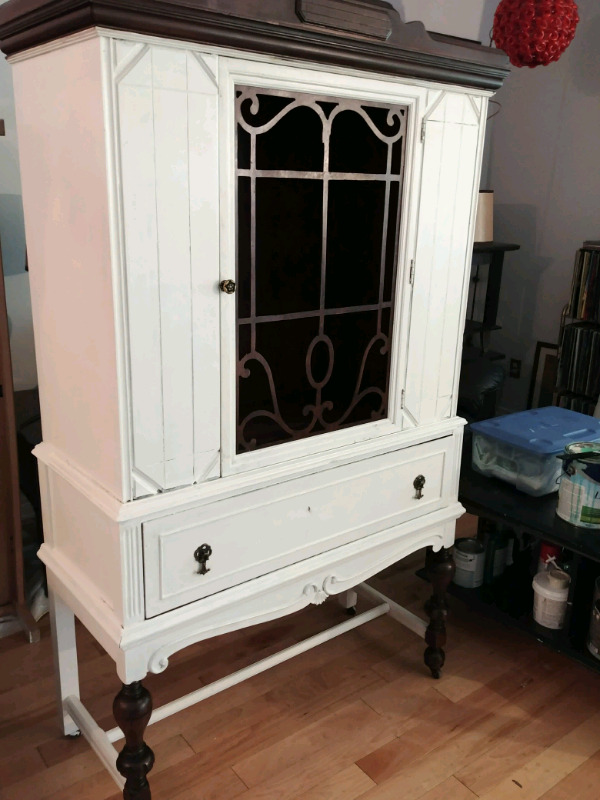 Listing item & Solid wood antique display case | Hutches u0026 Display Cabinets ...