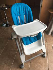 Oxo Seedling High Chair: Blue