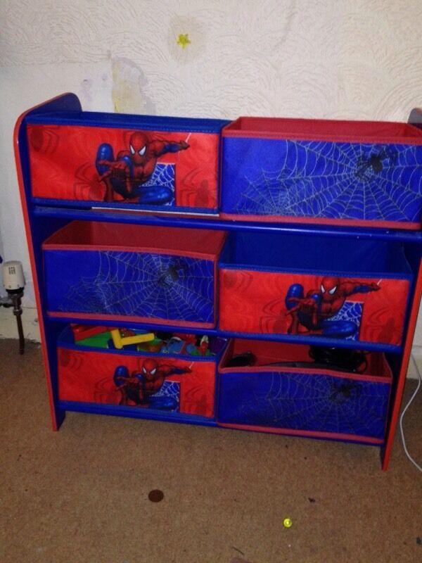 Spiderman Storage Unit