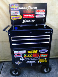 us general 4 drawer tool cart with big wheel kit mini pit wagon
