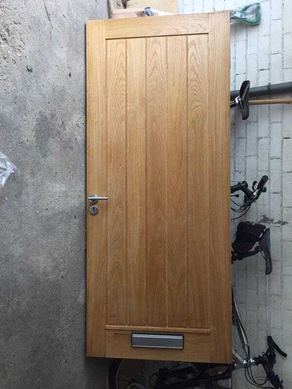 Howdens external dordogne oak front door & Howdens external dordogne oak front door | in Alwoodley West ...