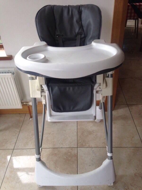 Cosatto Aurora Plus Reclining High Chair Leatherette on Wheels ** & Cosatto Aurora Plus Reclining High Chair Leatherette on Wheels ...