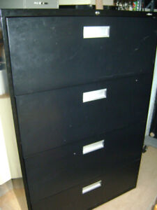 PRO SOURCE 4 DRAWER LATERAL FILING CABINETS