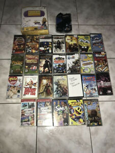 PSP Playstation Go System console handheld Games ,Case