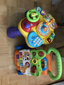 Toddler Walker and learning table