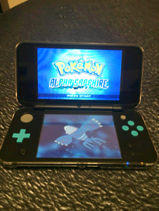 New Nintendo 2DS XL With Pokemon Alpha Sapphire (Good Condition)