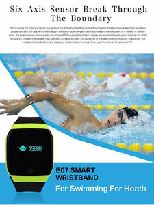 Bluetooth Smart Band Sport Wristband Swimming Watch